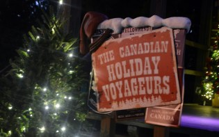 SamsDisneyDiary #86 - Epcot Holidays Around the World Musical Tour - Canada