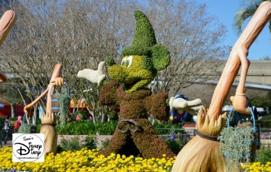 The 2017 Epcot International Flower and Garden Festival - Fantasia, between Imagination and The Land