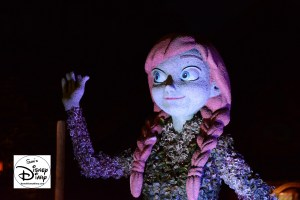 The 2017 Epcot International Flower and Garden Festival -Anna at night in Norway