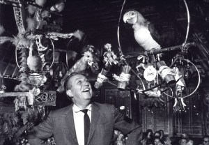"The original ""audio-animatronics"". Who says it all started with a mouse?"