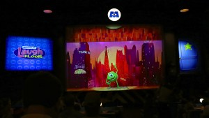 Monsters inc Laugh Floor - extending the capabilities of Digital Puppetry.