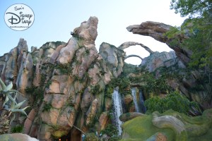 Water Flows into the Valley form the Queue to Flight of Passage.