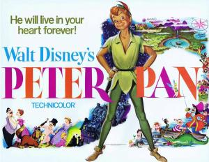 In 1953 Peter Pan added Captain Hook the Disney Piartes