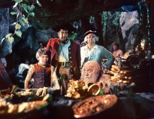 Treasure Island continued the Pirate theme in 1950 - the First Walt Disney Live Action Picture