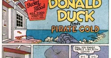 Donald Duck finds Pirate Gold original comic