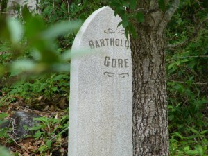 The Tomb of Bartholomew Gore as seen at Walt Disney Worlds Haunted Mansion. From early concept of a Pirate in the Mansion