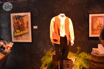 Props and Costumes from the 1950 Treasure Island - the first Disney live action film