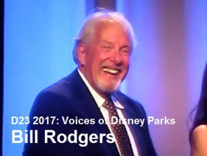 D23 Expo 2017 - Voices of the Parks -Bill Rodgers