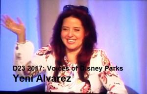 D23 Expo 2017 - Voices of Yeni Alverez