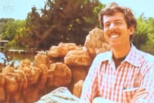 Tony Baxter - With his completed baby... Big Thunder Mountain