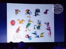 D23 Expo 2017: Marc Davis Tiki Room Concept Art