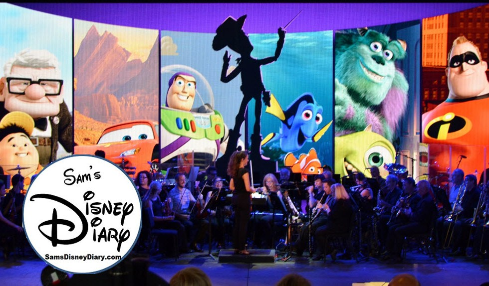 SamsDisneyDiary 97 - The Music of Pixar Live