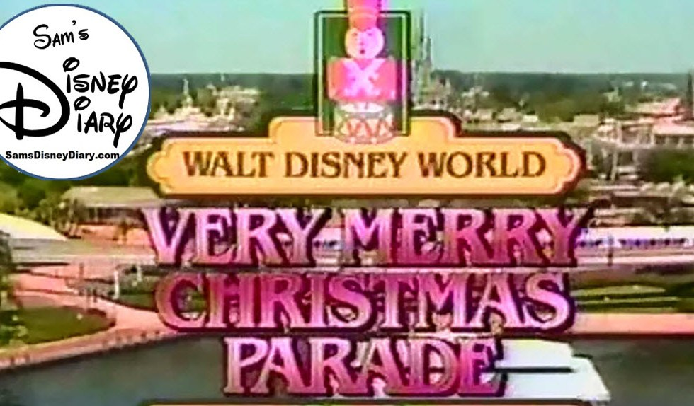 SamsDisneyDiary #101: The 1987 Walt Disney World Very Merry Christmas Day Parade