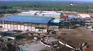SamsDisneyDiary #101: Early Construction of Disney MGM Studios as seen during the 1987 Christmas Day Parade