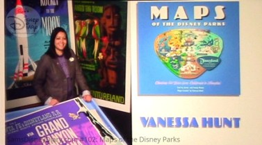 Vanessa Hunt Curated all of the Maps in the book - Maps of the Disney Parks - and participated on the Panel