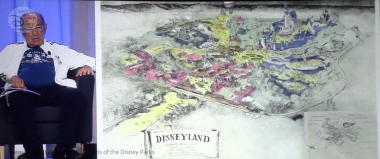 Disney Legend Marty Sklar participated on the Maps of the Disney Parks Panel, providing details that didn't make the book.