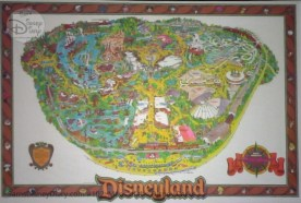 Disneyland Park Fun Map - From D23 Expo 2017 Maps of the Disney Parks and the book