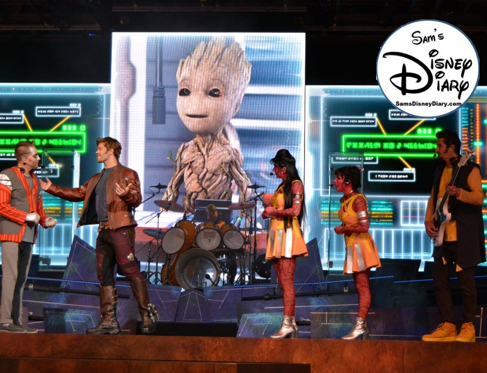 Sams Disney Diary Episode #109 - Guardians of the Galaxy Awesome Mix Live! Part of an Incredible Summer 2018.
