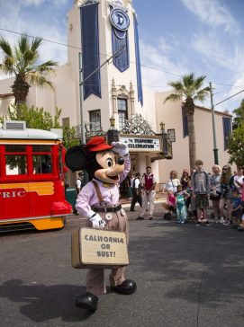 SamsDisneyDiary Red Car Trolley News Boys