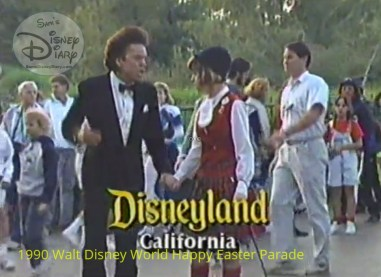 1990 Walt Disney World Happy Easter Parade - Disneyland is celebrating it's 35th anniversary with Buster Poindexter