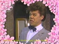 1990 Walt Disney World Happy Easter Parade - Special Guest Buster Poindexter