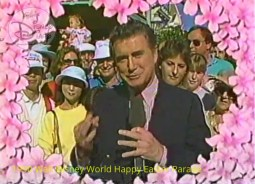 1990 Walt Disney World Happy Easter Parade - Co-Host Regis Philbin