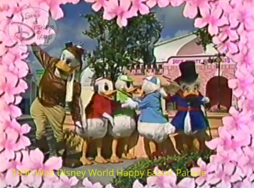 1990 Walt Disney World Happy Easter Parade - The Duck Tales Gang