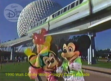 "1990 Walt Disney World Happy Easter Parade - ""Mickey, She's Got a Crush on You"""