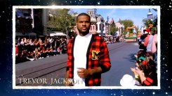 2018 Walt Disney World Christmas Day Parade Hosted by Sarah Hyland and Jordan Fisher with Jesse Palmer in Disneyland guests Trevor Jackson