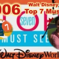 Walt Disney World Top 7 Must See (2006 The Happiest Celebration on Earth - In Room Television)