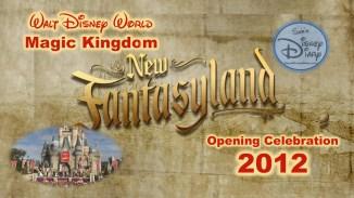 Walt Disney World New Fantasyland Opening Celebration 2012