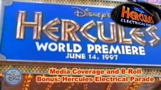 Hercules World Premier Media Coverage, New York City (1997)