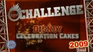 Food Network Challenge: Disney Celebration Cakes