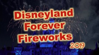 Disneyland Forever Fireworks It's a Small World Projections SamsDisneyDiary