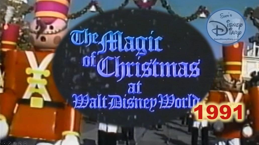 The Magic of Christmas at Walt Disney World (1991)