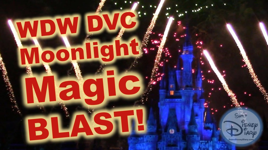 DVC Moonlight Magic Blast at Walt Disney World Magic Kingdom