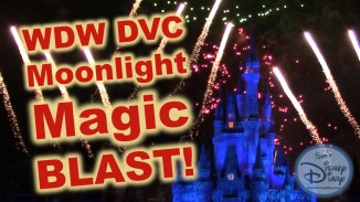 DVC Moonlight Magic Blast at Walt Disney World Magic Kingdom