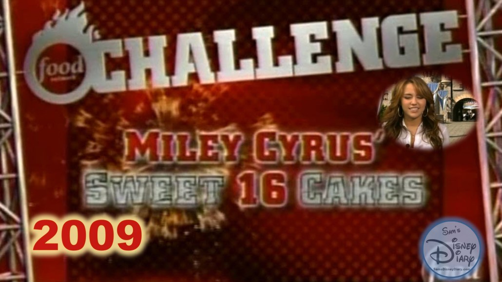 Food Network Challenge: Miley Cyrus Sweet 16 Cake (2009)