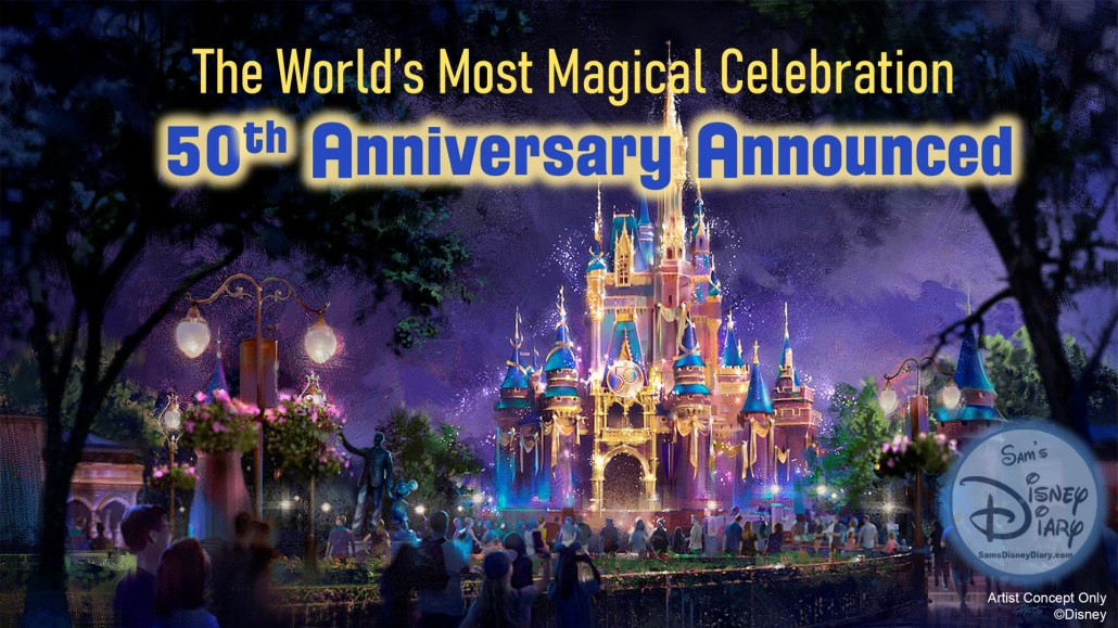 The World's Most Magical Celebration Official Logo