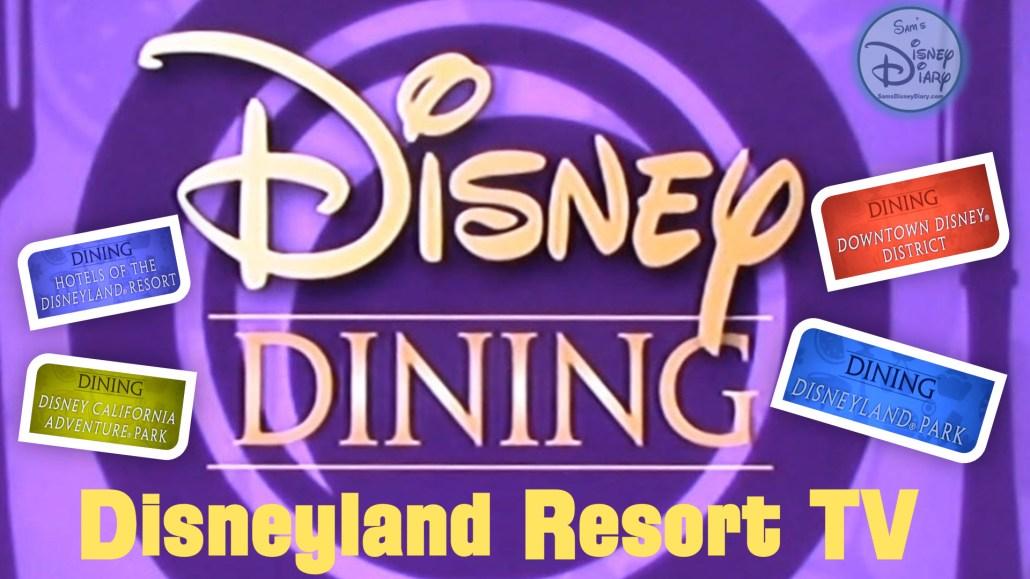 Disneyland Dining Guide Disneyland Resort TV (2017)