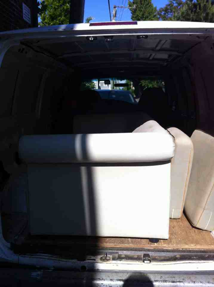 ASAP Loveseat sofa | Junk Removal – Same Day Service