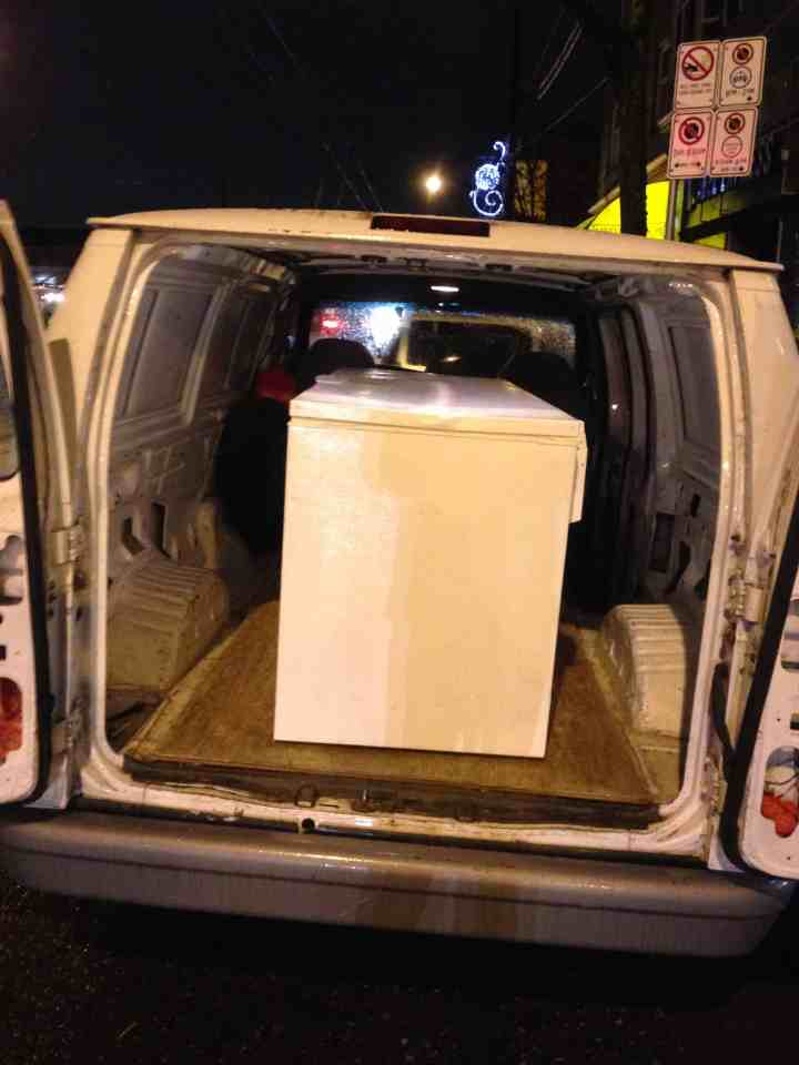 Refrigerator or Freezer Recycling Pick Up & Haul Away