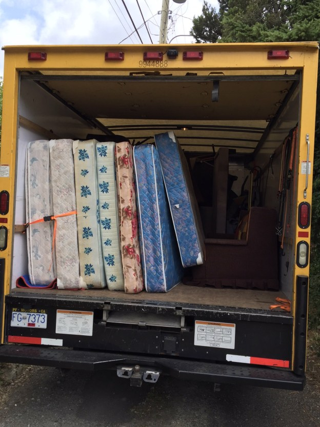 Mattress Removal Vancouver Same Day Short Notice