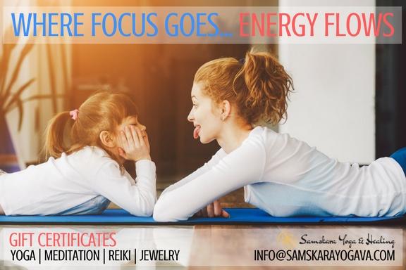 Yoga | Meditation | Reiki | Jewelry gift certificate