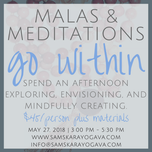 Malas & Meditations Samskara Yoga Sterling