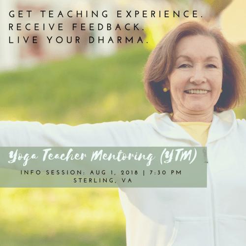 Samskara yoga teacher mentoring YTM