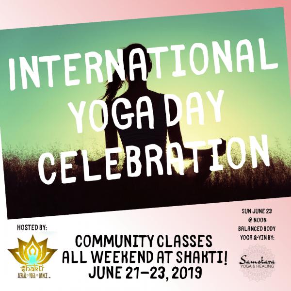 International yoga day Shakti Samskara Sterling