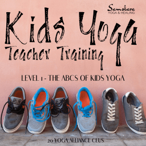 Kids Yoga Teacher Training CEU Module Dulles Ashburn Sterling