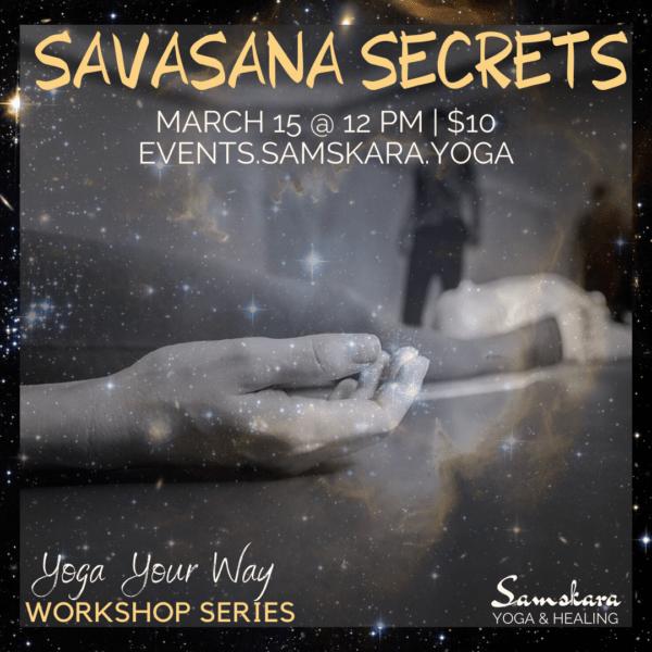 savasana workshop yoga fitness barre sterling dulles ashburn herndon chantilly loudoun