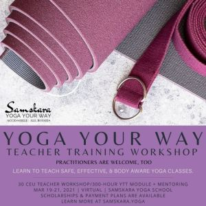 accessible inclusive yoga weekend ceu workshop